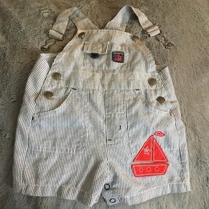 Other - Adorable sailboat overall shorts!